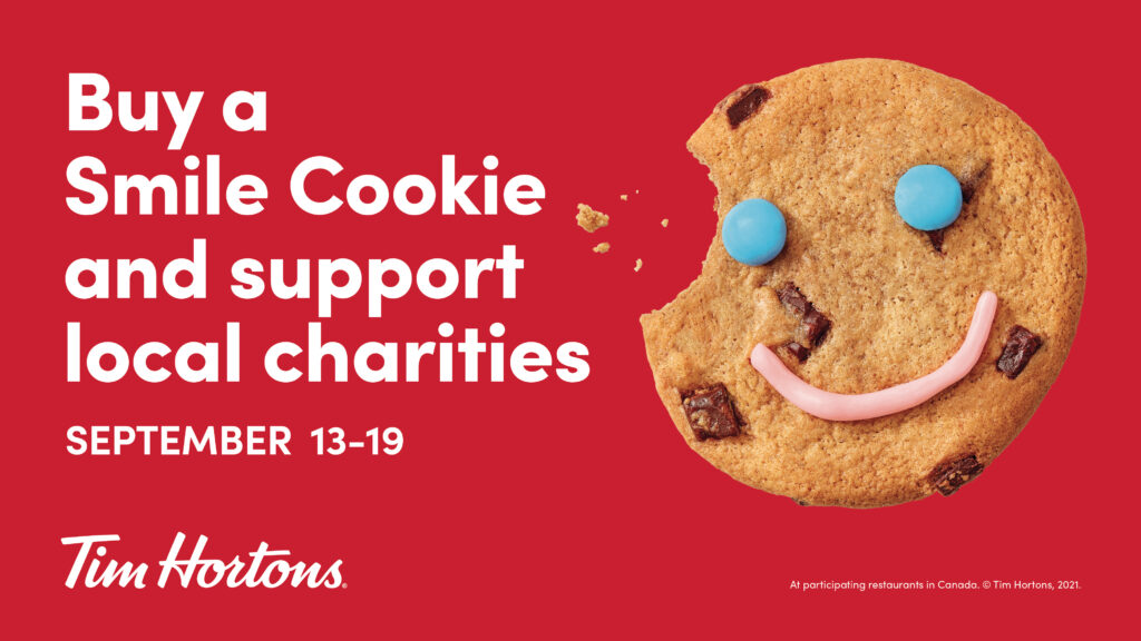 Buy a Smile Cookie and support local charities